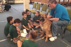 Literacy Night & Read to Dogs